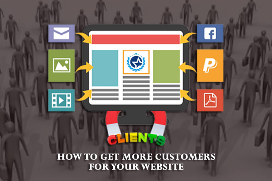 How to get more customers for your website