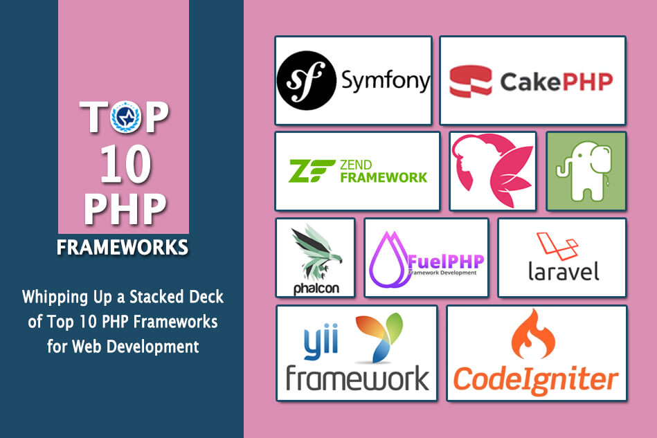 Whipping Up a Stacked Deck of Top 10 PHP Frameworks for Web Development