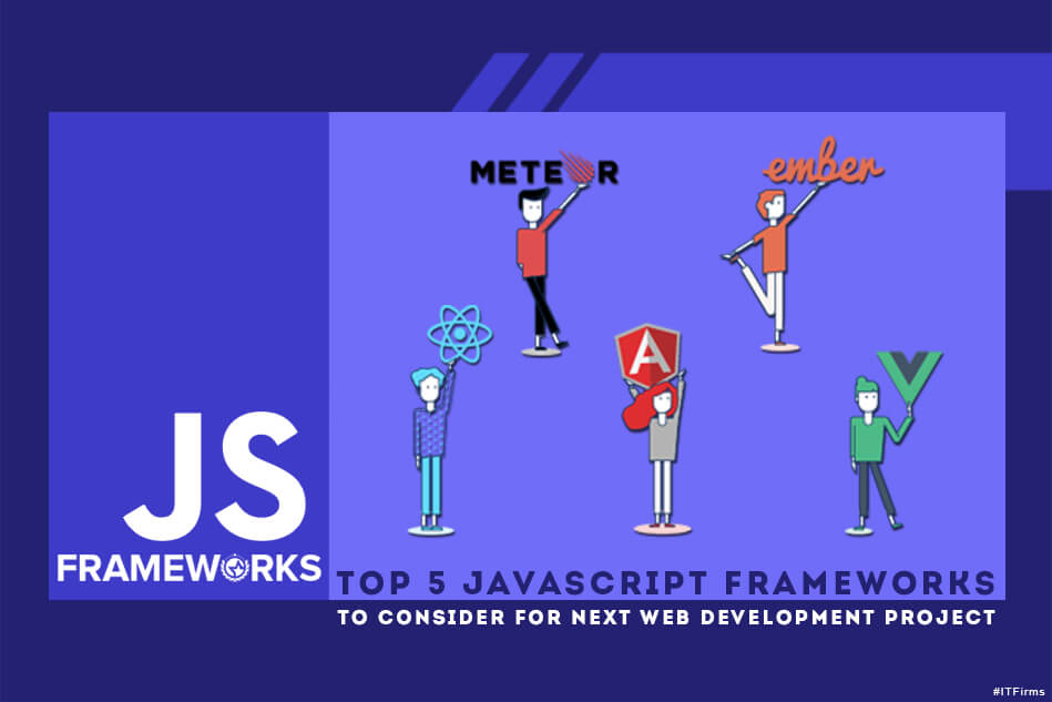 Top JavaScript Frameworks to Consider for Next Web Development Project