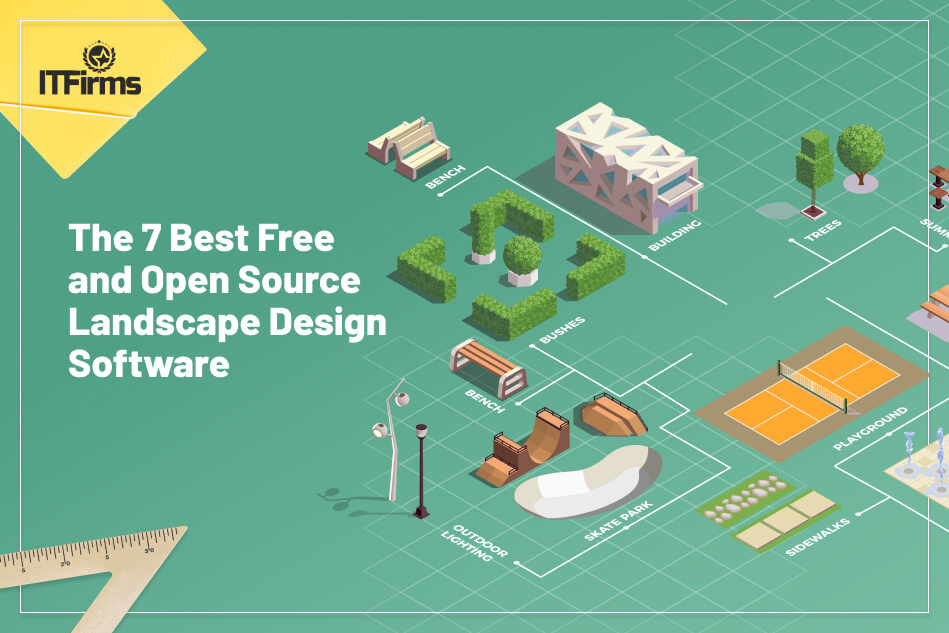 Illustrative List of 7 Best Free and Open Source Landscape Design Software