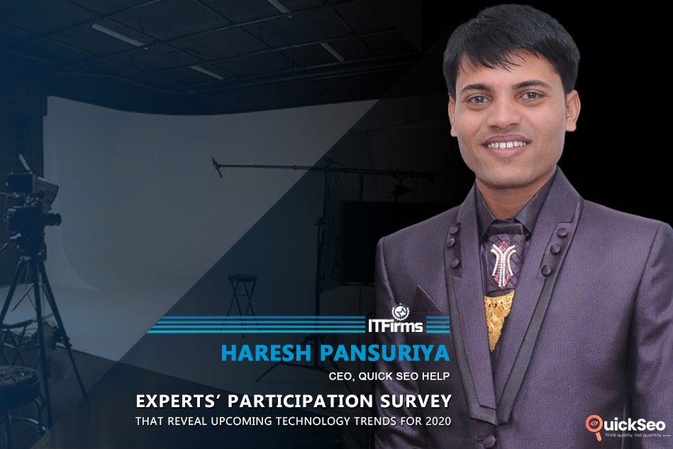 Interview with Haresh Pansuriya – CEO, Quick SEO Help