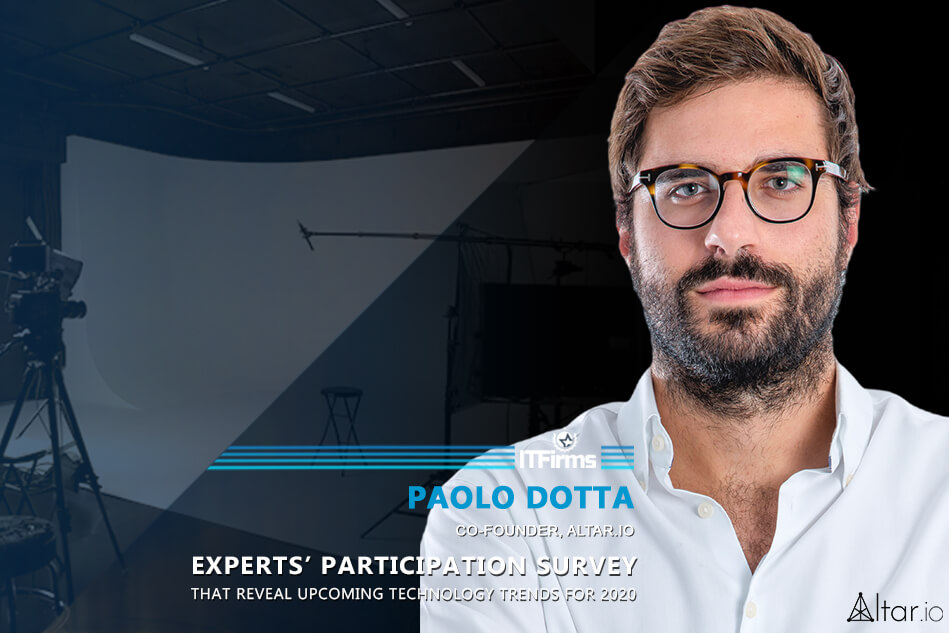 Interview with Paolo Dotta – Co-Founder, Altar.io